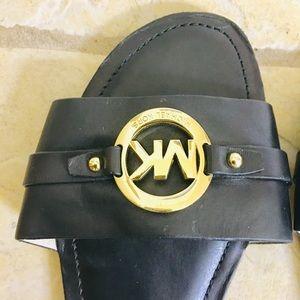 Micheal Kors Black Sandler shoes